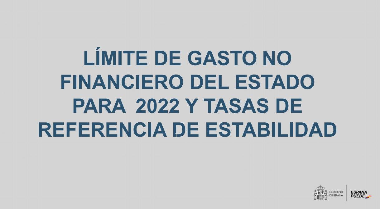Techo de gasto para 2022 y oferta de empleo público para 2021 (Ministerio de Hacienda y Función Pública)