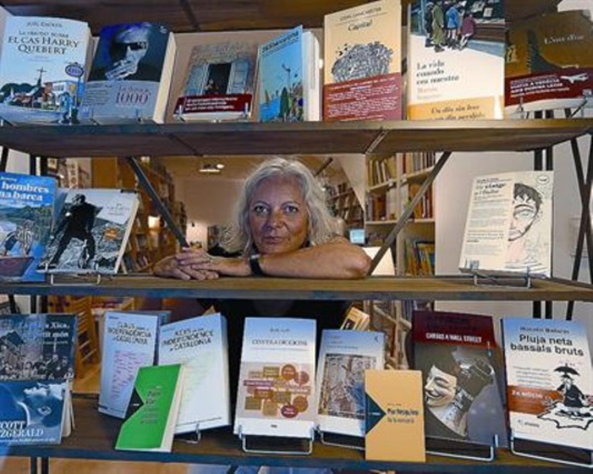 Dòria Llibres.La histórica del sectorNúria Dòria cumple ya ocho meses con su nueva librería en Mataró.