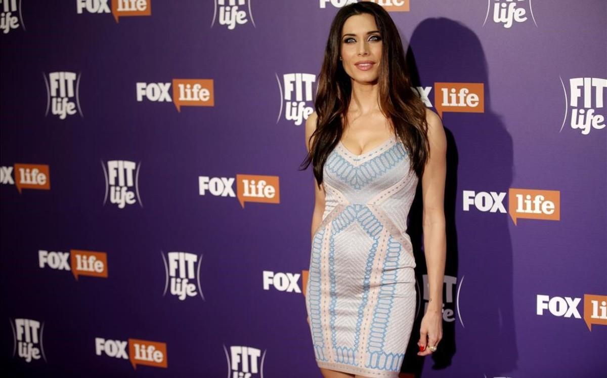 Pilar Rubio, en la presentación de 'Fit life', su nuevo programa en el canal de pago Fox Life.