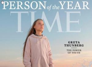 Greta Thunberg, persona de l'any per la revista 'Time'