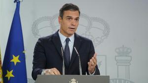 Sánchez: «Avui Espanya compleix amb si mateixa»