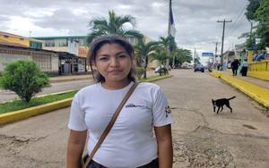 La periodista nicaragüenseKalua Salazar.