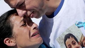 Patricia y Ángel, los padres de Gabriel Cruz.