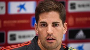 El entrenador de la selección española, Robert Moreno.