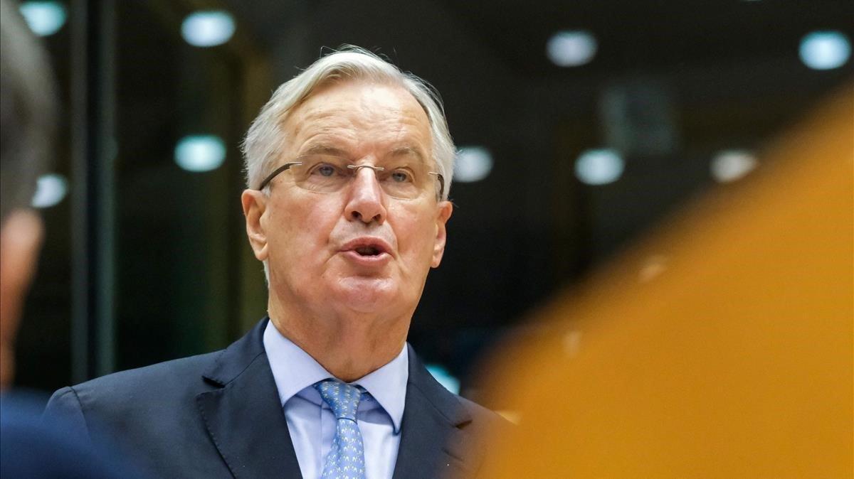 El negociador jefe de la UE,Michel Barnier.