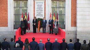 Homenaje en recuerdo a las víctimas del 11-M en Madrid.