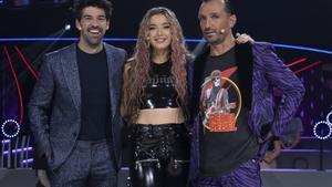 'The Dancer' en La 1: segunda semifinal de cine con los mentores de nuevo en el escenario