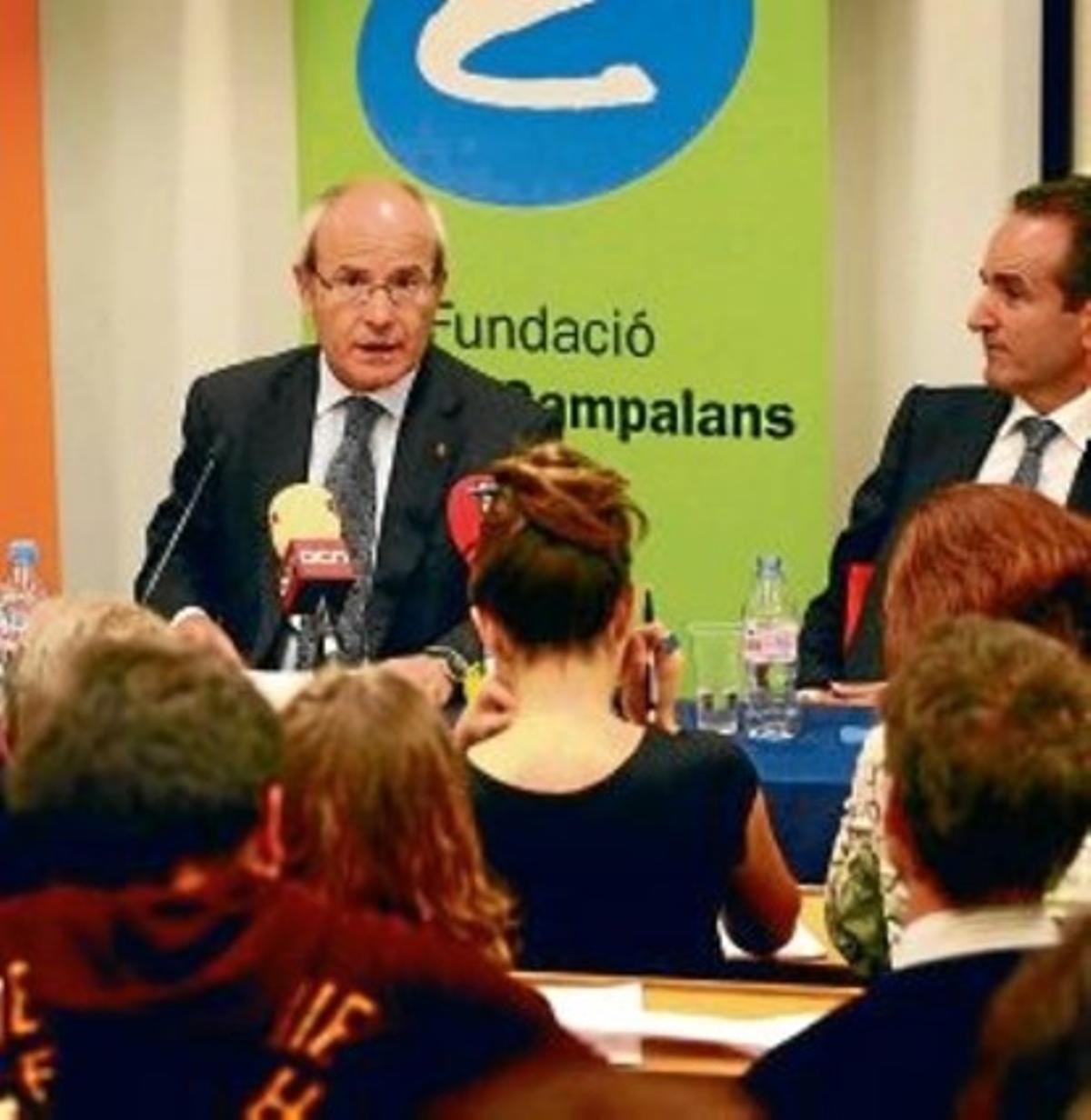 José Montilla, durante su intervención en Londres, ayer.
