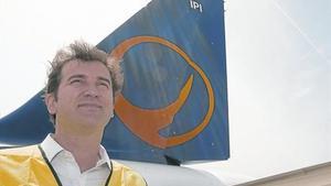 Ferran Soriano, en la presentación del logotipo de la compañía, en el 2009.