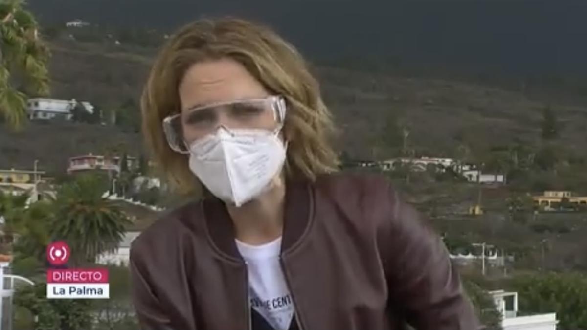"""Silvia Intxaurondo se despide de La Palma con unas emotivas palabras: """"Es un orgullo ser su televisión"""""""
