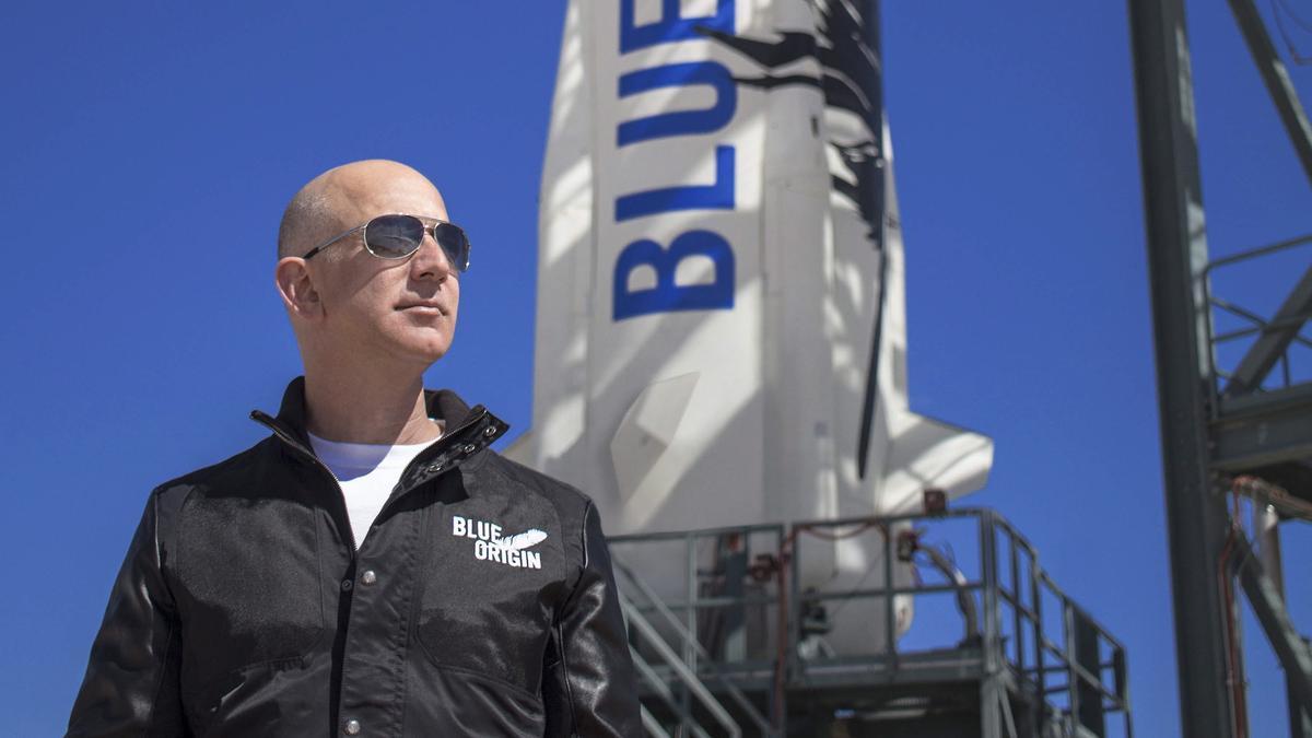 Jeff Bezos ya ha cumplido su sueño de ir al espacio, ahora se propone ser eterno.