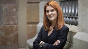 Jéssica Albiach, en el Parlament.