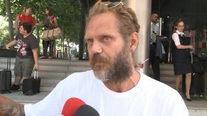 El exactor actor porno Nacho Vidal, acusado dela muerte de un fotógrafo tras inhalar vapores de veneno de sapo.