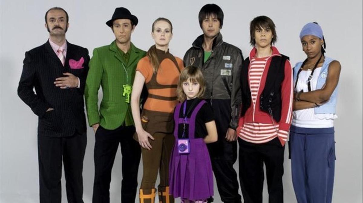 La Família del Super 3 en su debut en el 2006.