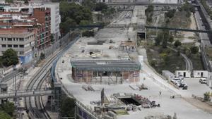 La nueva estación de Sant Andreu Comtal estará terminada en el segundo semestre de 2022