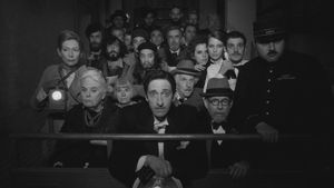 Una imagen de 'The French dispatch', de Wes Anderson.