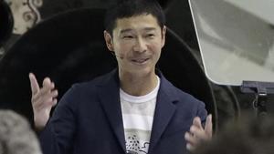 El millonario japonés Yusaku Maezawa.