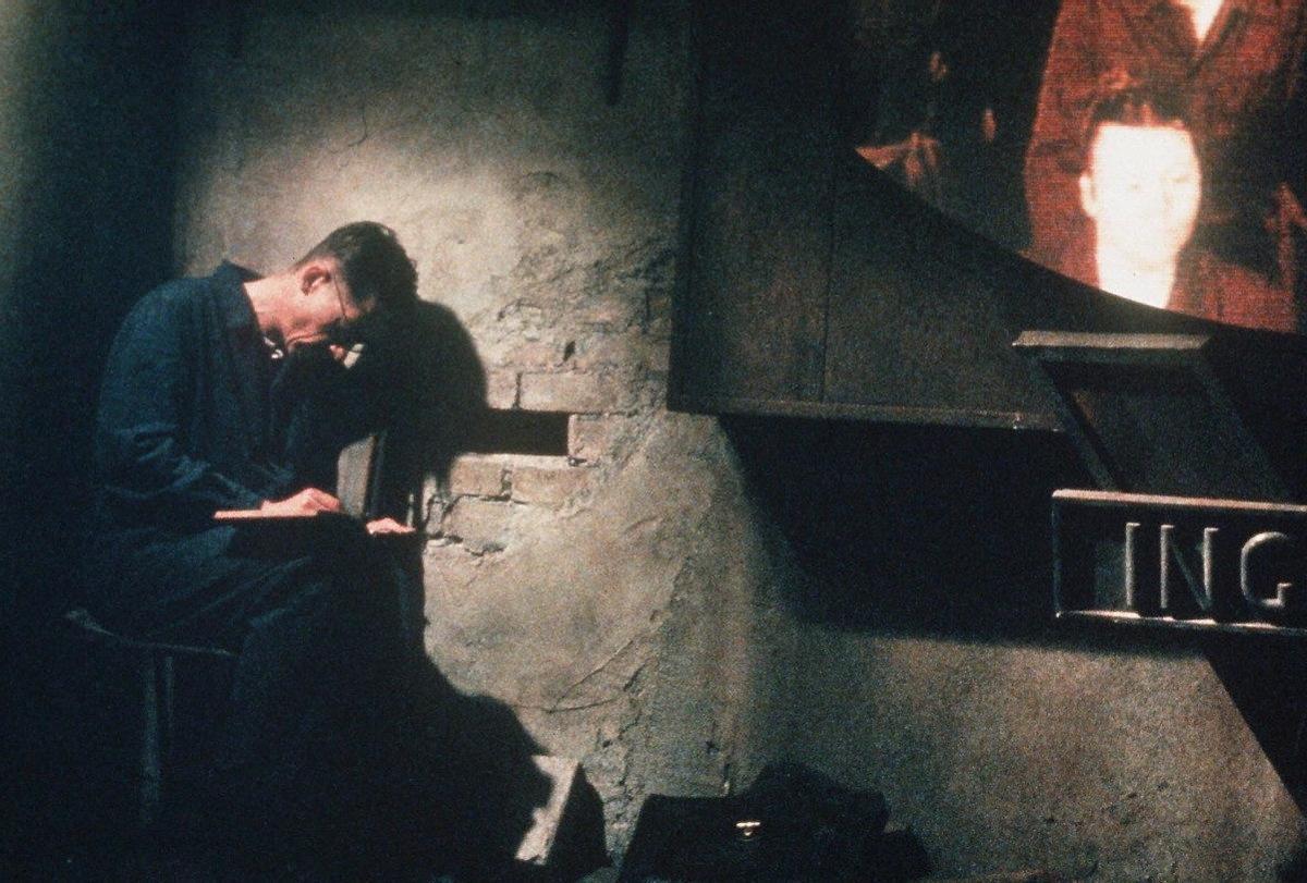 Una imagen de '1984' (Michael Radford, 1984).
