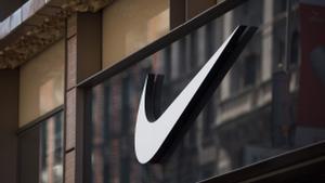 El logo de Nike en su tienda 'Nike Soho' en Nueva York.