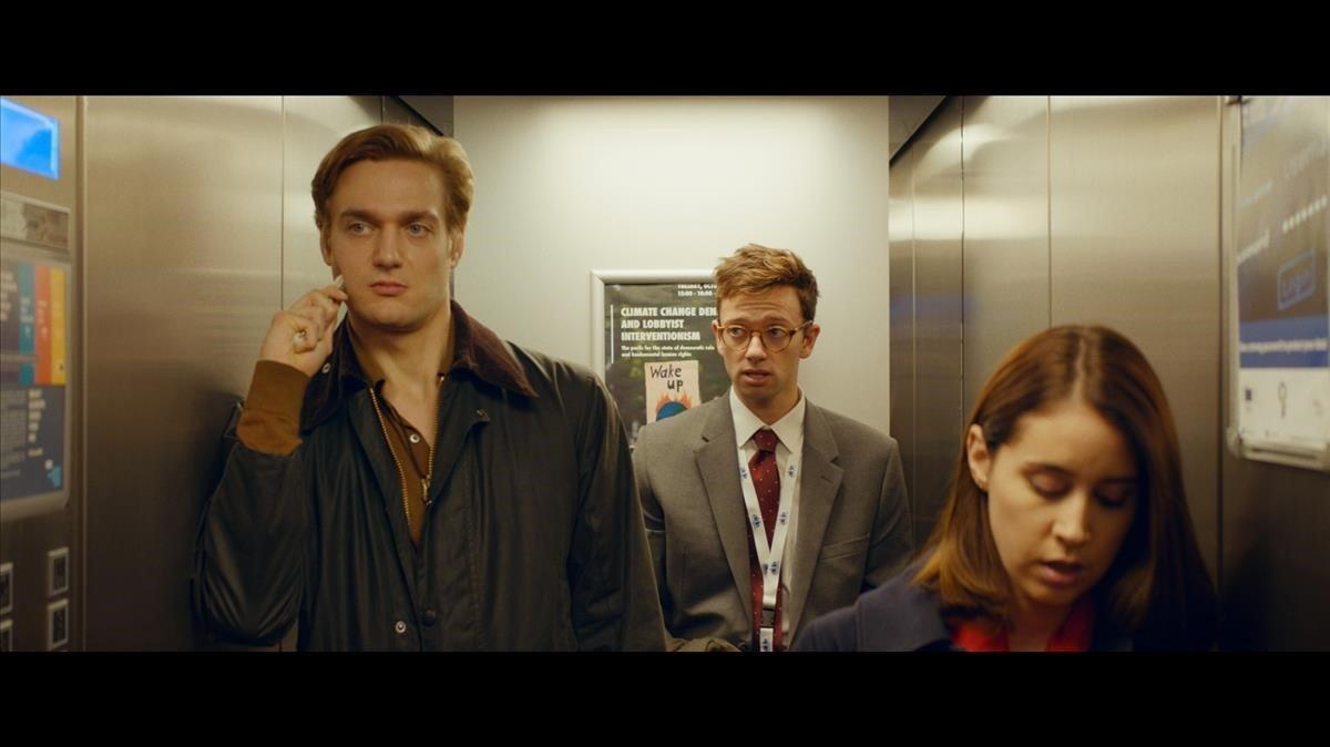 Fotograma de la serie 'Parliament'.