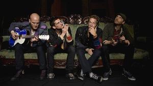 Foto promocional del grupo Coldplay