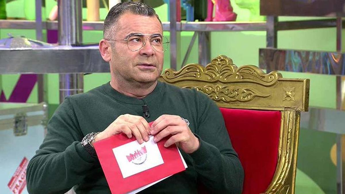 Jorge Javier, ayer en 'Sálvame'