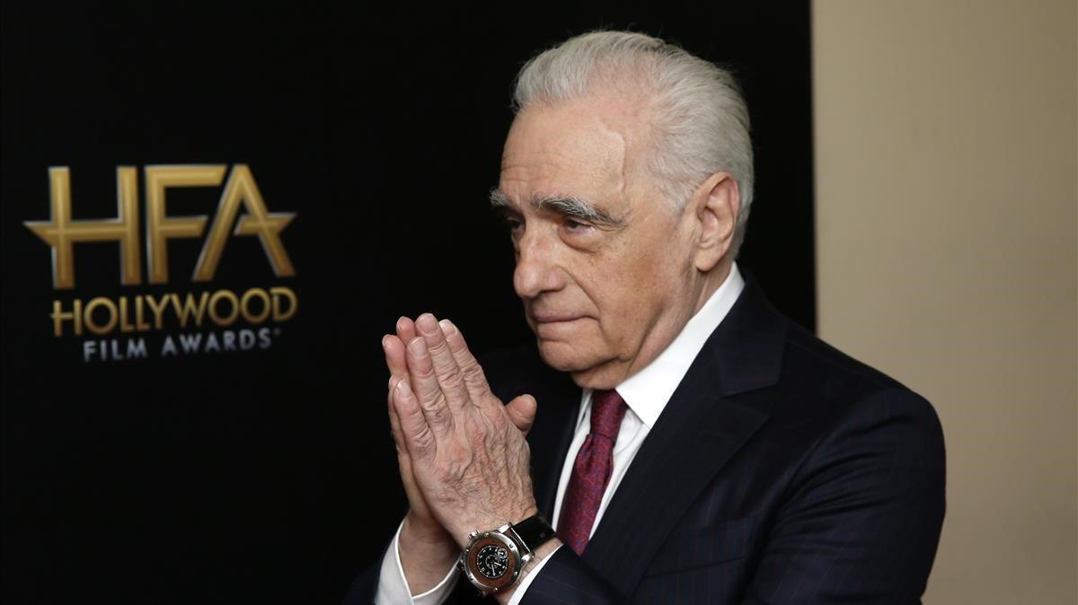 Martin Scorsese, el pasado 3 de noviembre en Beverly Hills