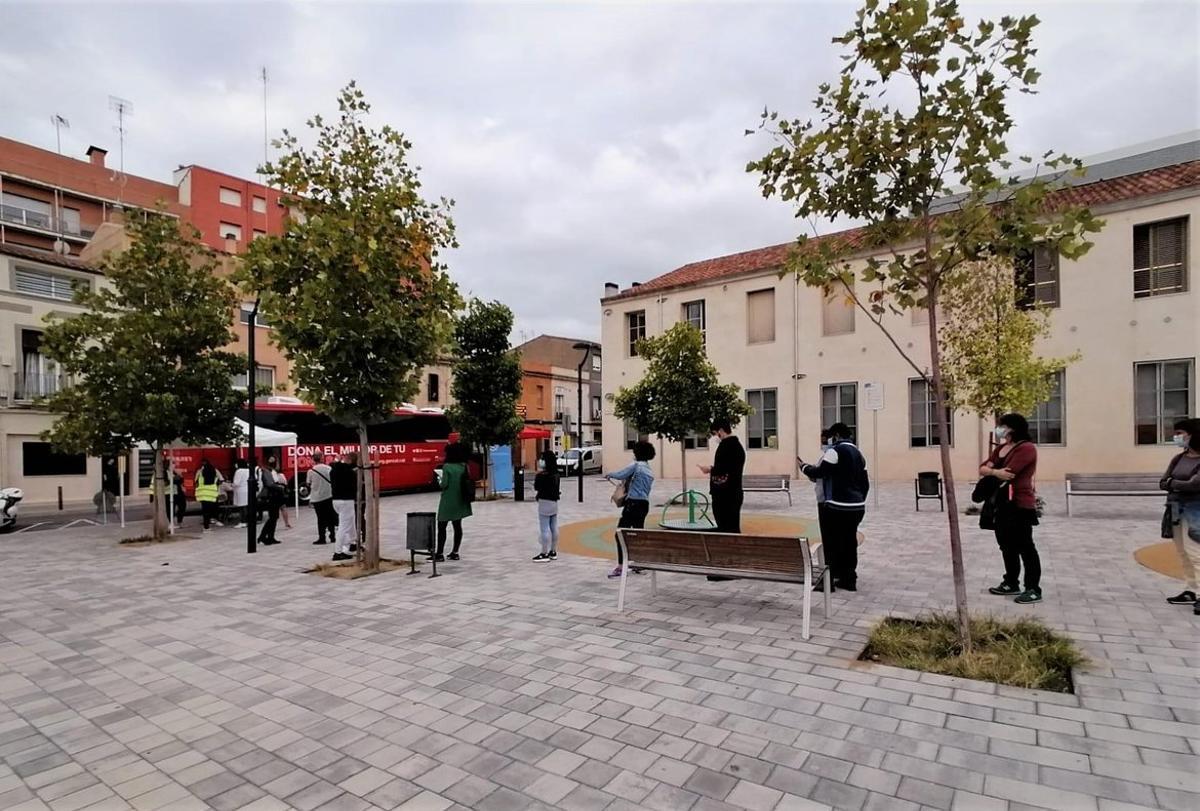 Salut realitza cribratges massius a dues escoles de Mataró