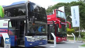 Del total de vehículos adquiridos, 50 son articulados y 39 híbridos (alternan diesel y electricidad), por lo que reducen el uso de combustibles.
