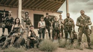 Una imagen promocional de 'Ejército de los muertos', de Zack Snyder