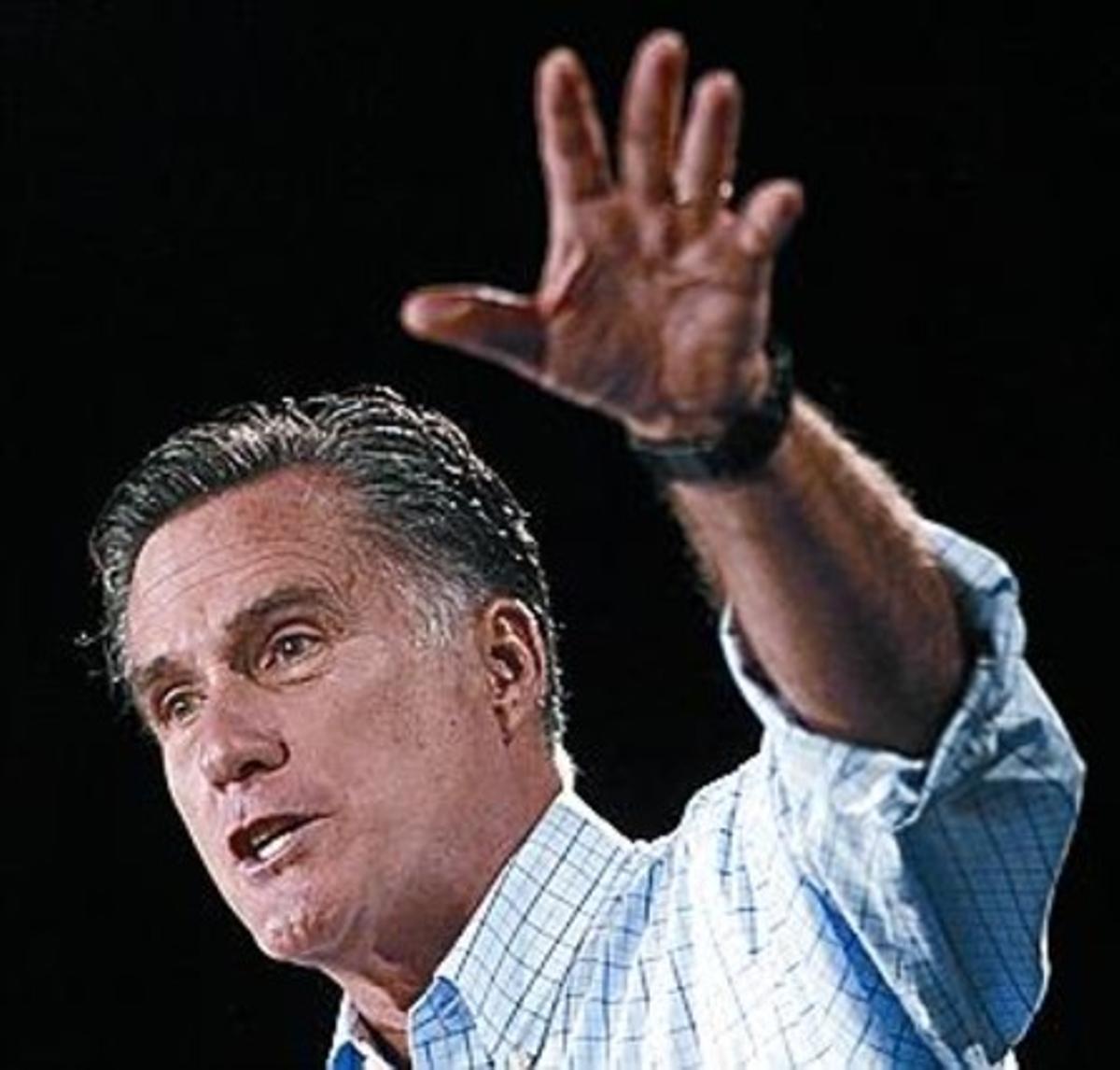 Romney en la carretera