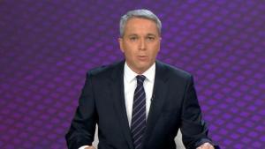 """Vicente Vallés se colapsa y sufre un lapsus con las cifras del covid: """"No se puede bajar la guarra"""""""