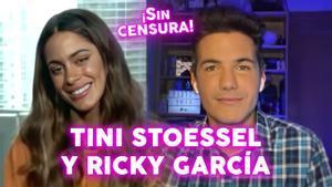 """Tini Stoessel, en directo con Ricky García, lanza nueva bomba musical: """"No es fácil estar en 'La voz'"""""""