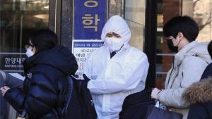 Aumenta el número de contagios del coronavirus en Corea del Sur.