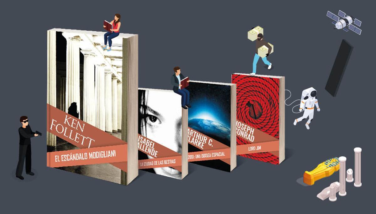 Novel·les d'acció i aventura