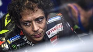 El italiano Valentino Rossi (Yamaha) ha dado positivo en Covid-19 en Aragón.