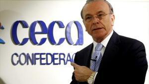 Isidre Fainé, presidente de la CECA y la Fundación Bancaria La Caixa.