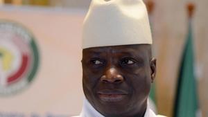 Jammeh, en una imagen de archivo, en marzo del 2014.