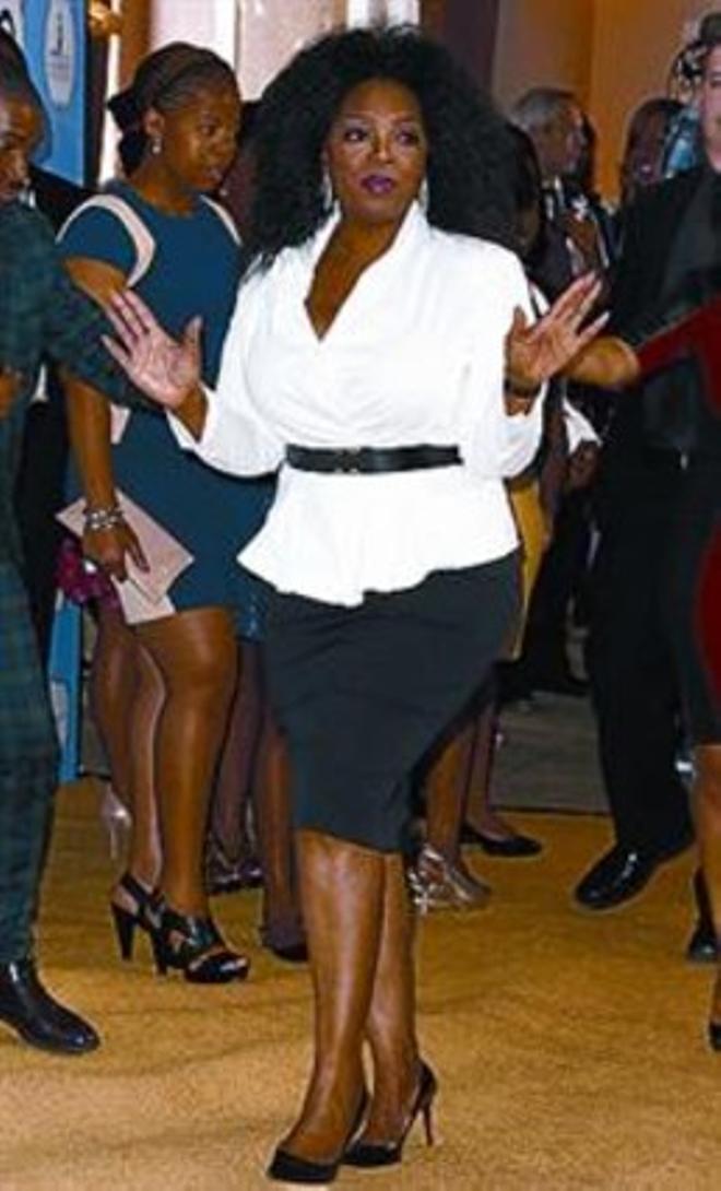 Oprah Winfrey honra a las mujeres negras
