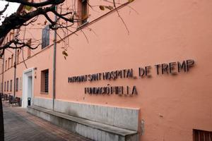 Fachada de la residencia Sant Hospital de Tremp.