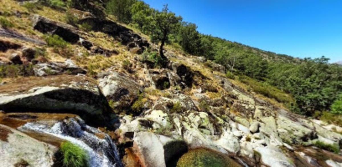 El valle del Jerte.