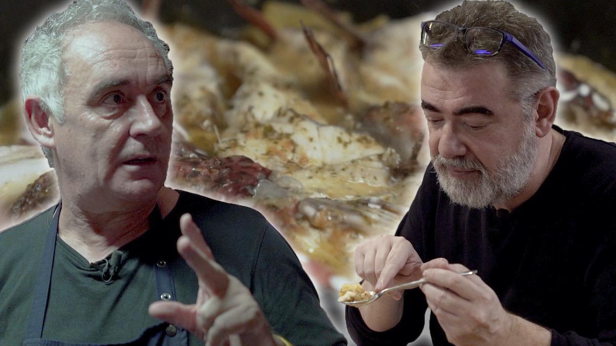 Ferran Adrià nos prepara un suquet, el primer plato que aprendió a cocinar.