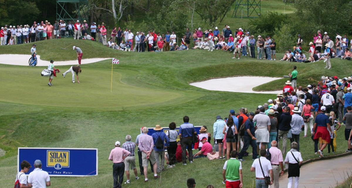 El campo de la PGA, en Caldes de Malavella (Girona).