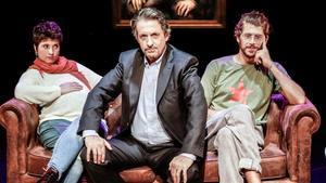 Estel Solé, Ramon Madaula y Jaume Madaula protagonizan 'Els Brugarol', actualmente en cartel en el Poliorama.