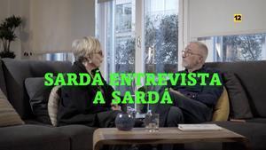 Xavier y Rosa María Sardà en la promo de 'laSexta noche'.