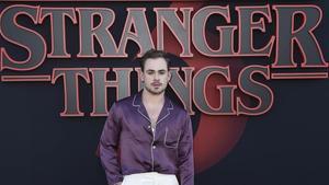 El actor de 'Stranger things' Dacre Montgomery.