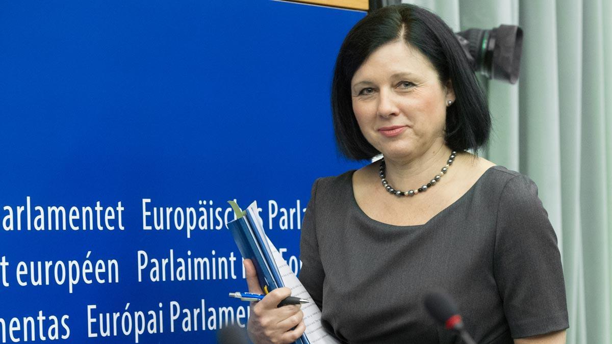 Vera Jourova.