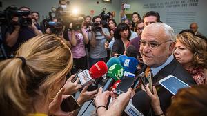 Juan Cotino niega que ofreciera nada a nadie a cambio de su silencio tras el accidente del metro de Valencia.