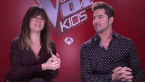 """Hablamos con Vanesa Martín y David Bisbal de 'La voz kids': """"Los niños nos dan lecciones a nosotros"""""""