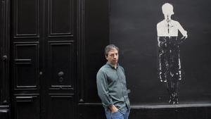 El escritor mexicano David Toscana.